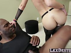 Super sexy pornstar Mischa Brooks is getting her ass destroyed hardcore