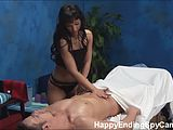 Horny Teen Seduces Massage Client