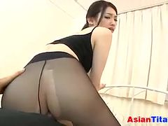 Japanese Girl In Pantyhose Point Of View