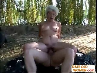 Free old porn woman