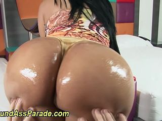 Oiled up asses big